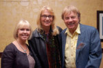 Wendy Padbury, Daphne Ashbrook, and Frazer Hines at Gallifrey 20